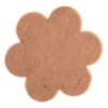 Metal Blank 24ga Copper Flower 22mm No Hole 9pcs
